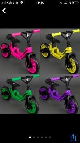Беговел,велобег,байк,самокат,для деток от 2 до 6 лет,отличное качество