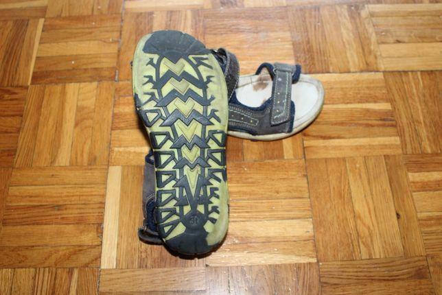 LASOCKI Young sandałki ze skóry/skórzane chłopięce/dla chłopca rozm 31