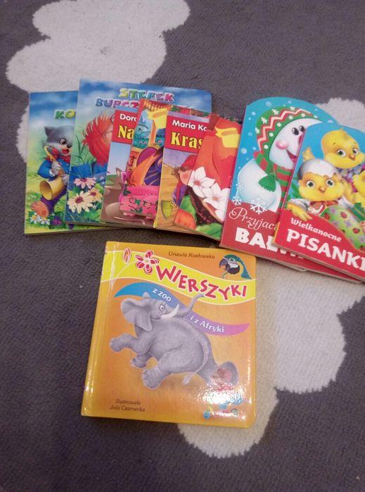 Książeczki z twardymi stronami bardzo kolorowe Bukowno - image 1