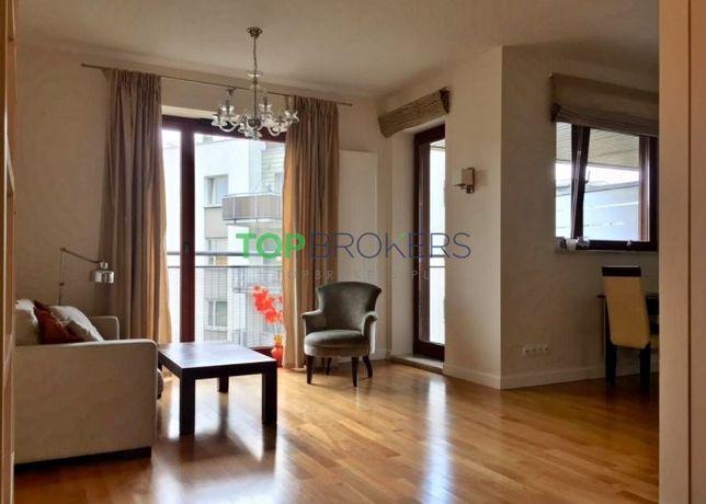 Przestronne dwa pokoje, balkon z super widokiem, Al. Rzeczypospolitej