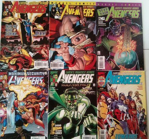 BD Marvel Avengenrs, Exiles, Batman, Lobo, JLA, The Order