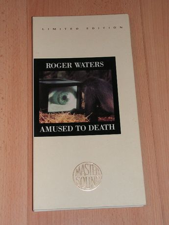 Roger Waters - Amused to Death CK 53196 Mastersound Longbox 24 kt gold