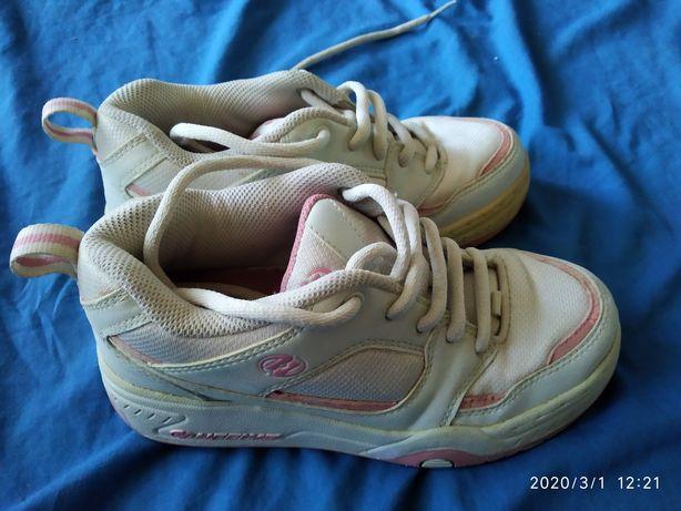 Роликовые кроссовки HEELYS, 35 размер