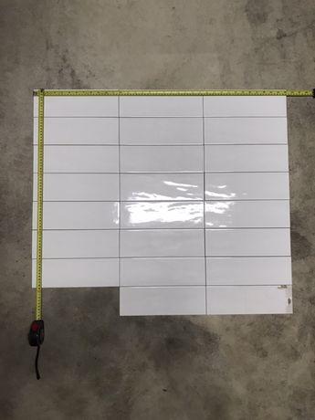 Glazura płytka włoska FAP biała prostokątna 10 x 30cm