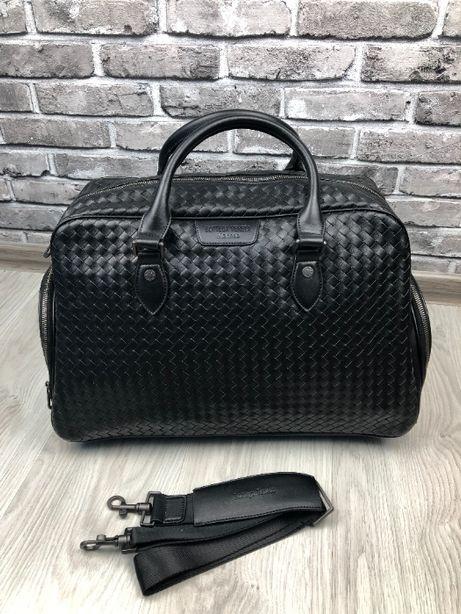 Дорожная сумка натуральная кожа сумка для багажа Bottega Veneta c278