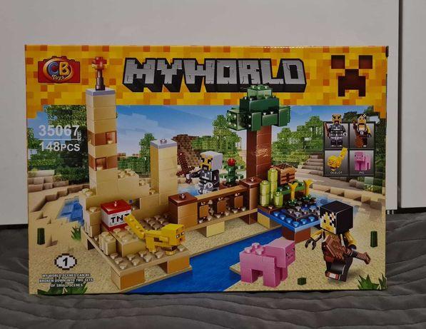 Minecraft MY WORLD klocki 2w1