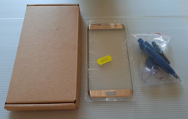Szyba SAMSUNG Galaxy S7 edge G935F  KOLOR ZŁOTY