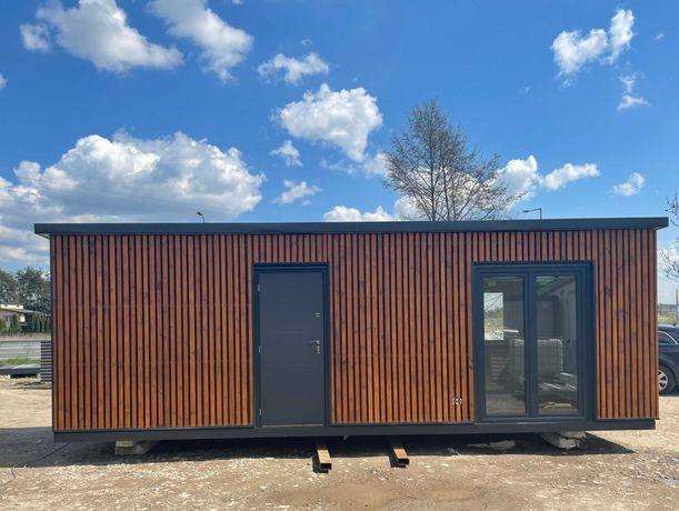 domek całoroczny domek działkowy mieszkalny estetyczny docieplony 21m2
