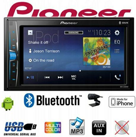 Radio samochodowe PIONEER MVH-A200VBT