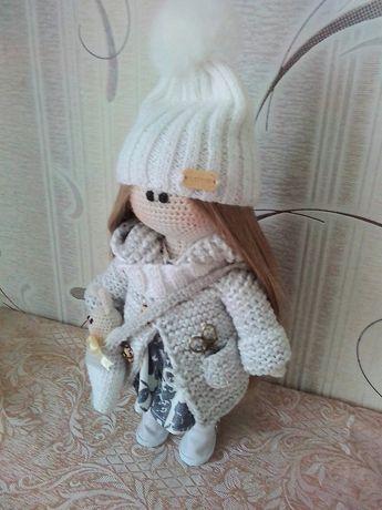 Акция! Кукла, кукла тильда, лялька тільда, в'язана лялька