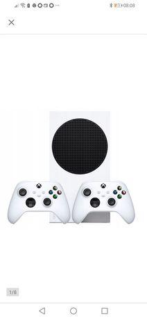 Nowy xbox series s 512g, 2 kontrolery
