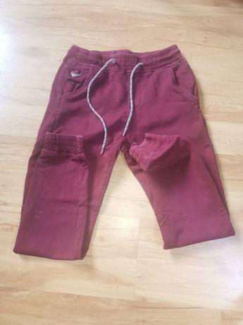 Spodnie chłopiec jak nowe rozmiar 28. Bordo
