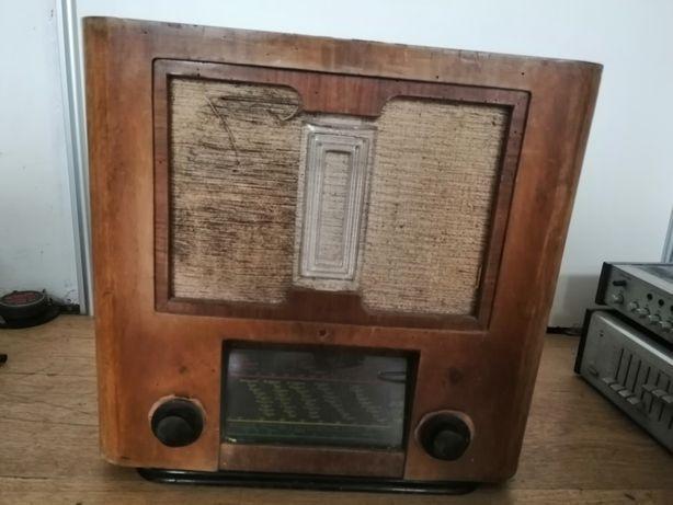 Stare polskie Radio philips 109a lampowe
