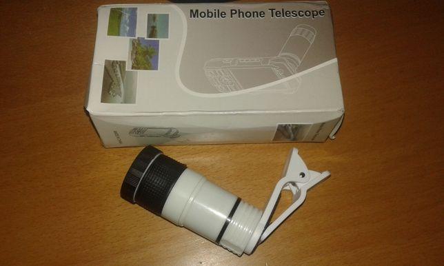 Objetiva para telemóveis