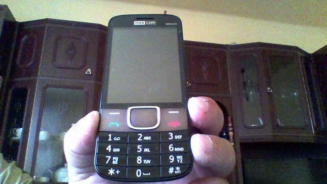 sprzedam nowy telefon komorkowy z gwarancia max com Classic MM320