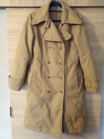 Sprzedam płaszcz trencz ciepły 40 42