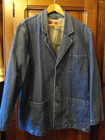 Płaszczyk dżinsowy ciemnoniebieski 52