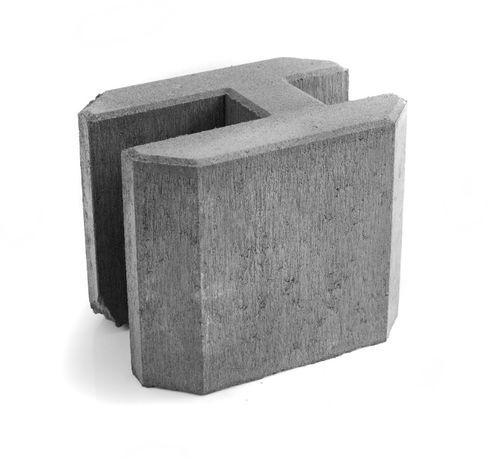 Łącznik podmurówki betonowy startowy pośredni narożny 25cm H250 wibro