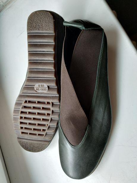 Туфли, балетки Англия, кожа р 39