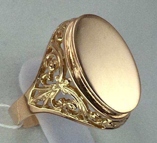 Кольцо золотое 583 проба, советское а1057