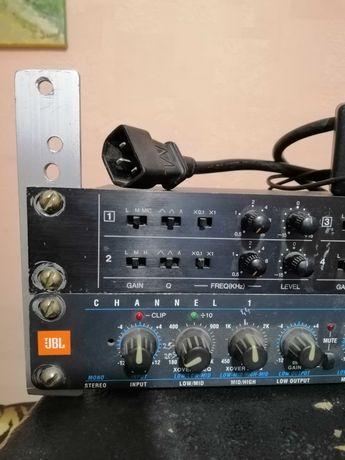 кроссовер JBL M553 + эквалайзер KAWAI EG-8