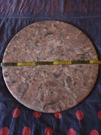Base de mármore p/ mesa centro