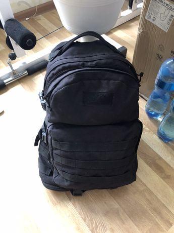 Рюкзак тактический 40-60л Цвет: Черный Материал: Кордура Poly 900 ден