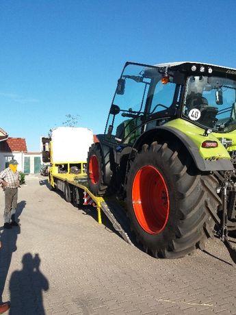Transport maszyn rolniczych budowlanych do 6 i 16 ton ATRAKCYJNA CENA