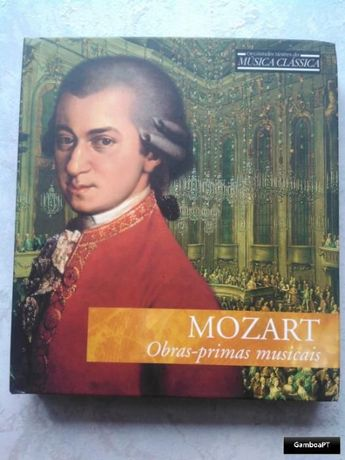 CD Mozart - Obras-Primas Musicais
