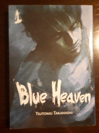 "książka komiks japońska Tsutomu Takahashi pt. ""Blue Heaven"""