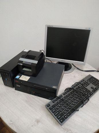 Комп'ютерна система для вибивання чеків