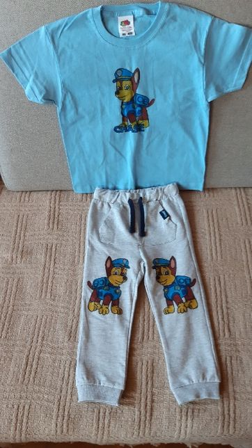 koszulka i spodnie