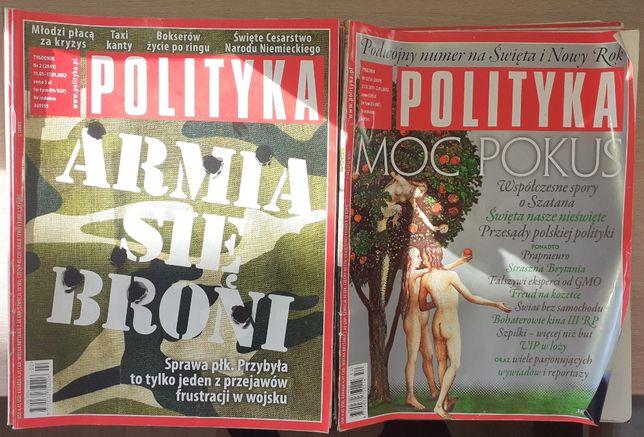 Tygodnik Polityka rocznik 2012.