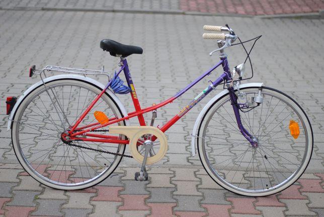 Dziecięcy rower dwururka koła 24'' przerzutki sachs