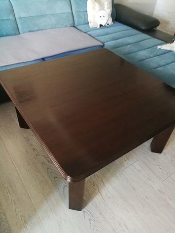 Stół dębowy brązowy