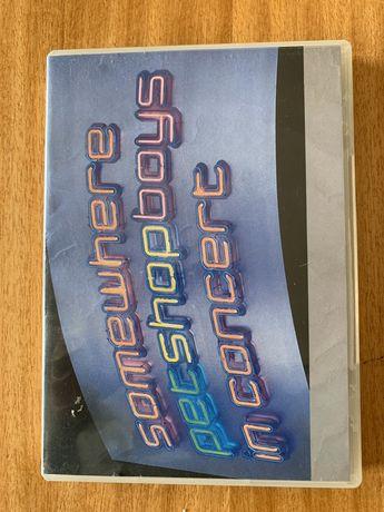 """DVD Pet Shop Boys """"Somewhere"""""""
