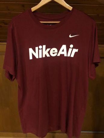 T-Shirt vermelha Nike Air - Tamanho L