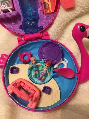 Набор Polly pocket, фламинго
