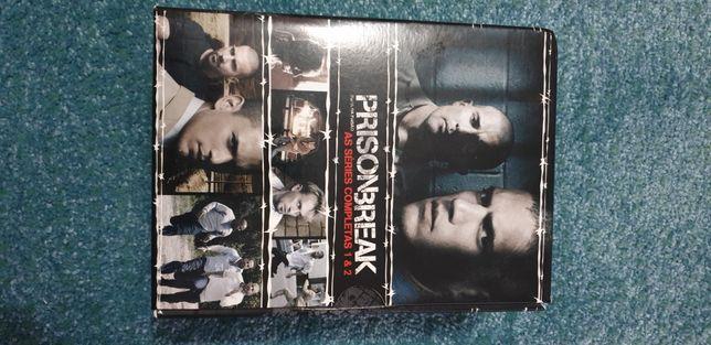 DVD PrisonBreak series completas 1 e 2