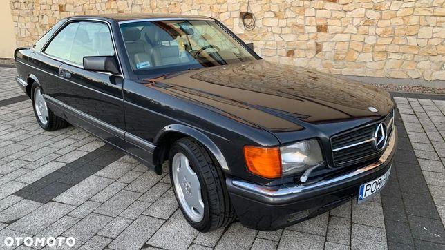 Mercedes-Benz Klasa S Mercedes 560 SEC rok 1989 , oryginał, bez przeróbek, bez gazu, 279 KM