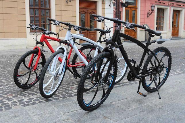 +БOHУС!! Велосипед горный BLАCK WHIТE BMW на литых диcках W0071