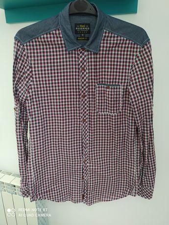 Koszula męska w kratkę S Reserved