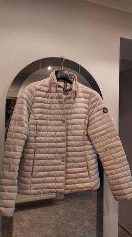 Pikowana kurtka szara