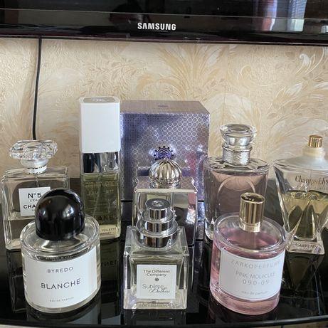Духи распив Dior, Chanel, Amouage, Guerlain, Byredo, Kilian, Molecule!