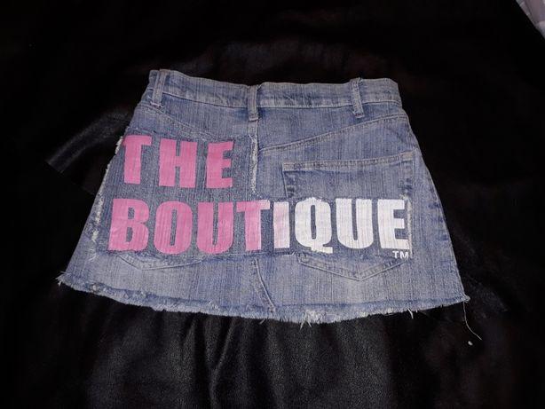 Джинсовая модная короткая юбка одежда Parisian