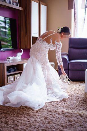 Suknia ślubna MILLA NOVA - ARIANA (kolor ivory)