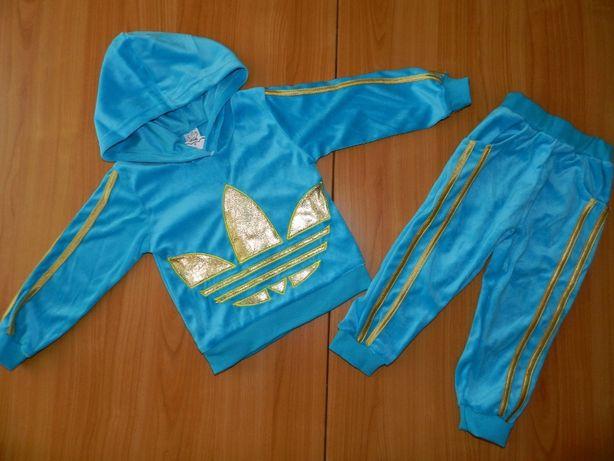Спортивный велюровый костюм