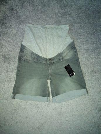 Spodenki jeans ciążowe nowe S