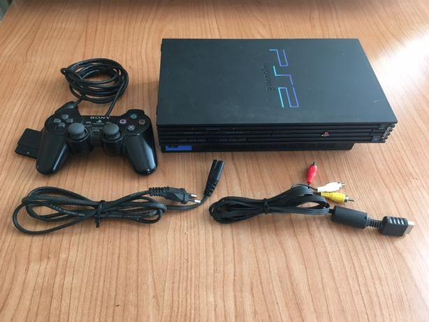 Consolas ps2 Fat + slim + jogos + comando arcade