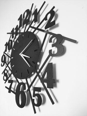 Zegar metalowy, loftowy, loft